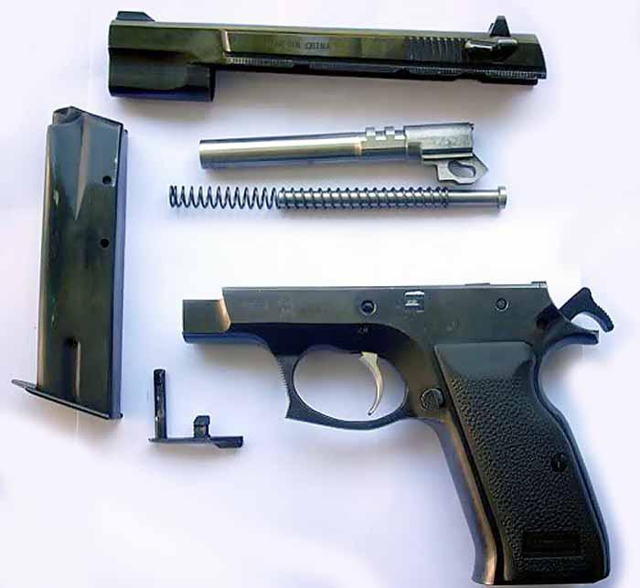 Norinco nz 75 пистолет — характеристики, фото, ттх
