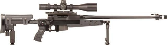 Крупнокалиберная снайперская винтовка bushmaster ba50