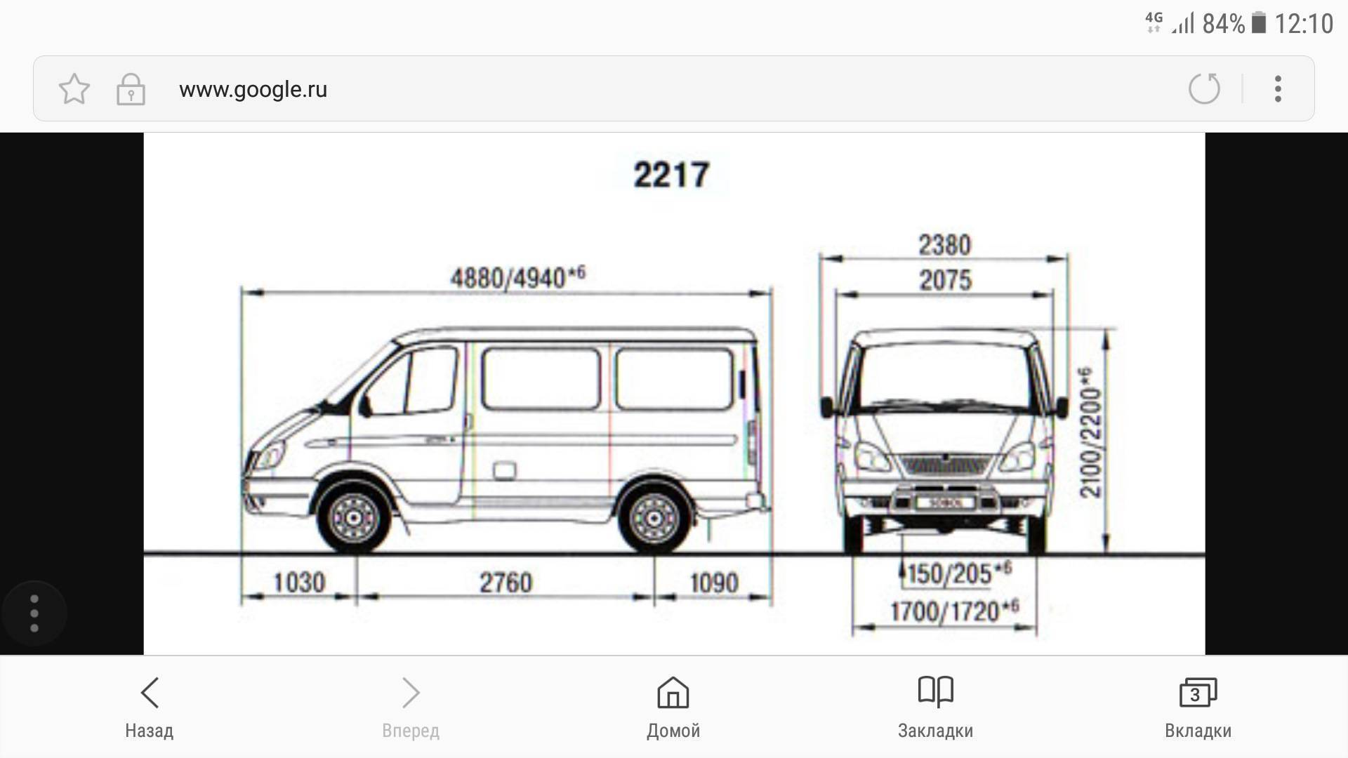 Газ 22171: цена газ 22171, технические характеристики газ 22171, фото, отзывы, видео - avto-russia.ru