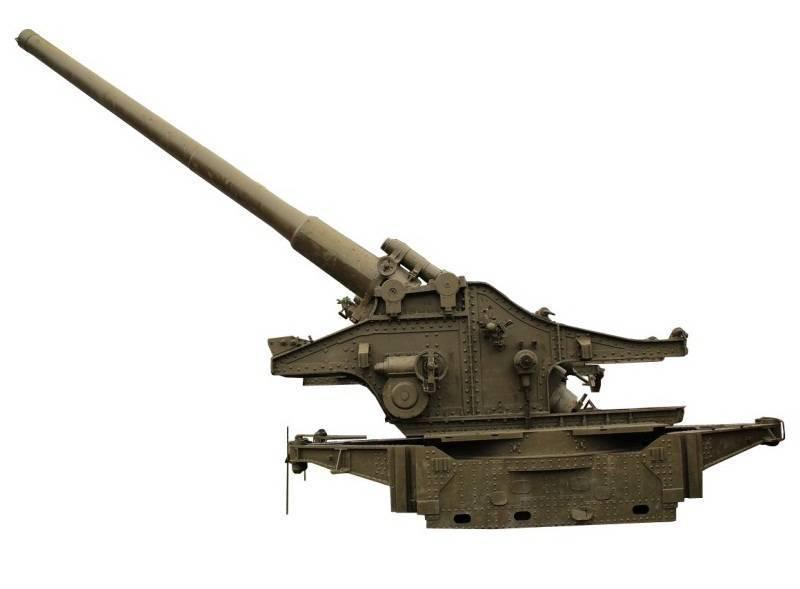 280-мм мортира бр-5 образца 1939 года фото. видео. ттх