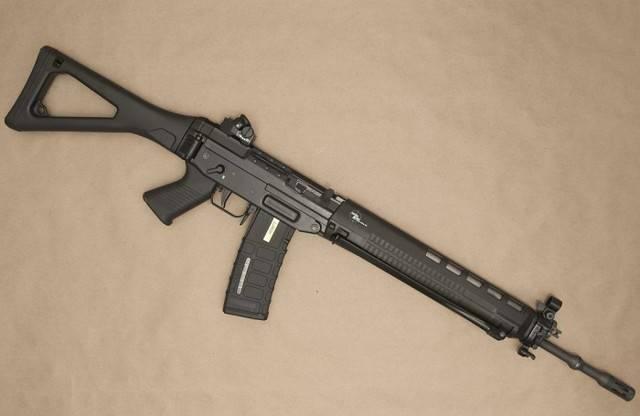 Видео: штурмовые винтовки sig sg 550, sg 551 и sg 552