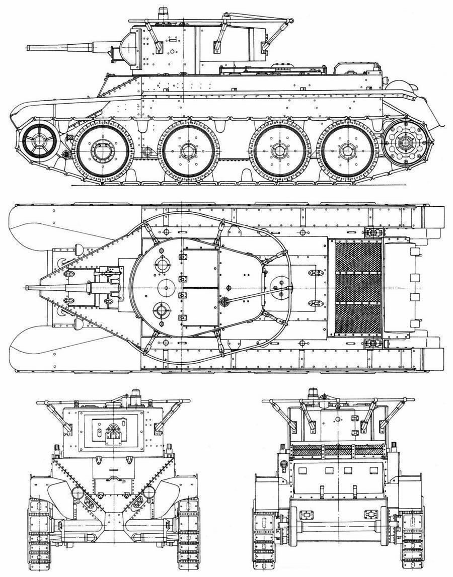Танки серии БТ – быстроходные советские «американцы»