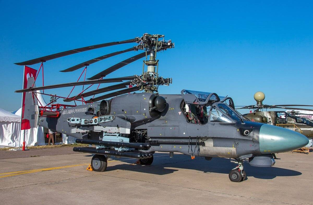 Фото ка-52 «аллигатор»