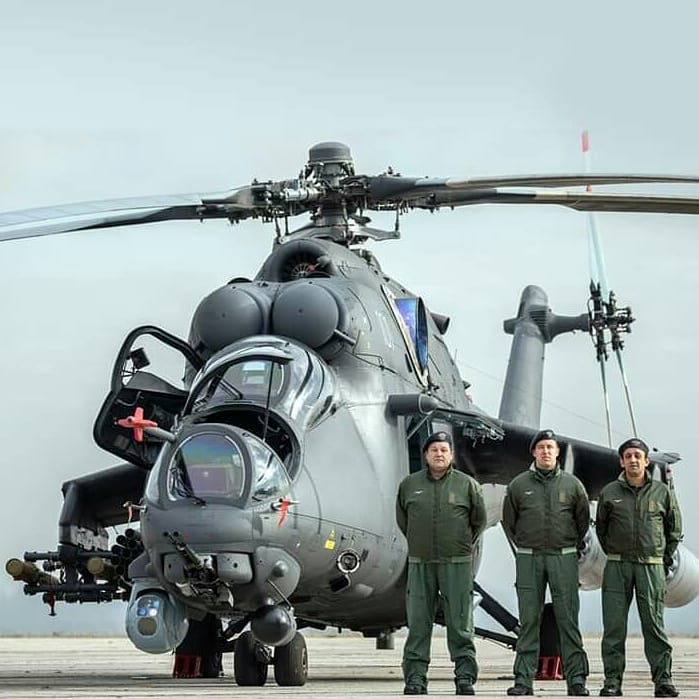 Ми-35 – новая жизнь «Крокодила»