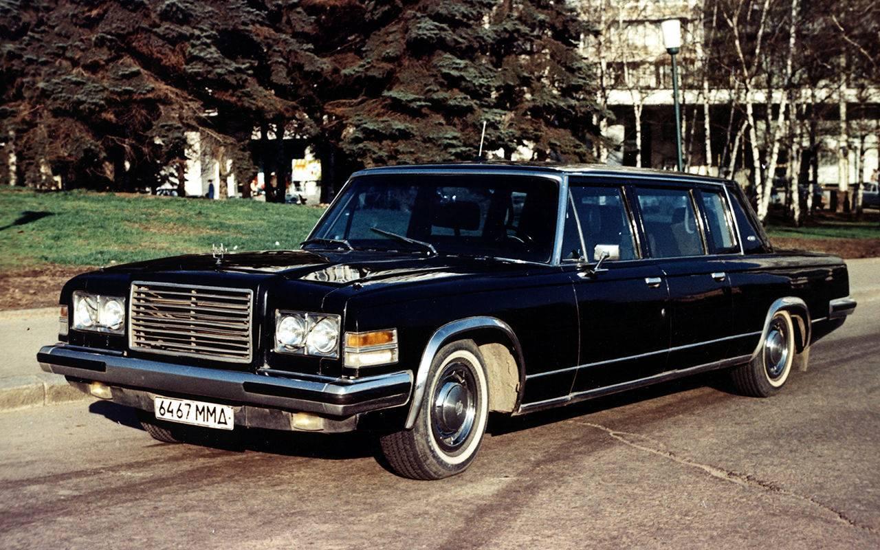 Последний российский лимузин зил-4104