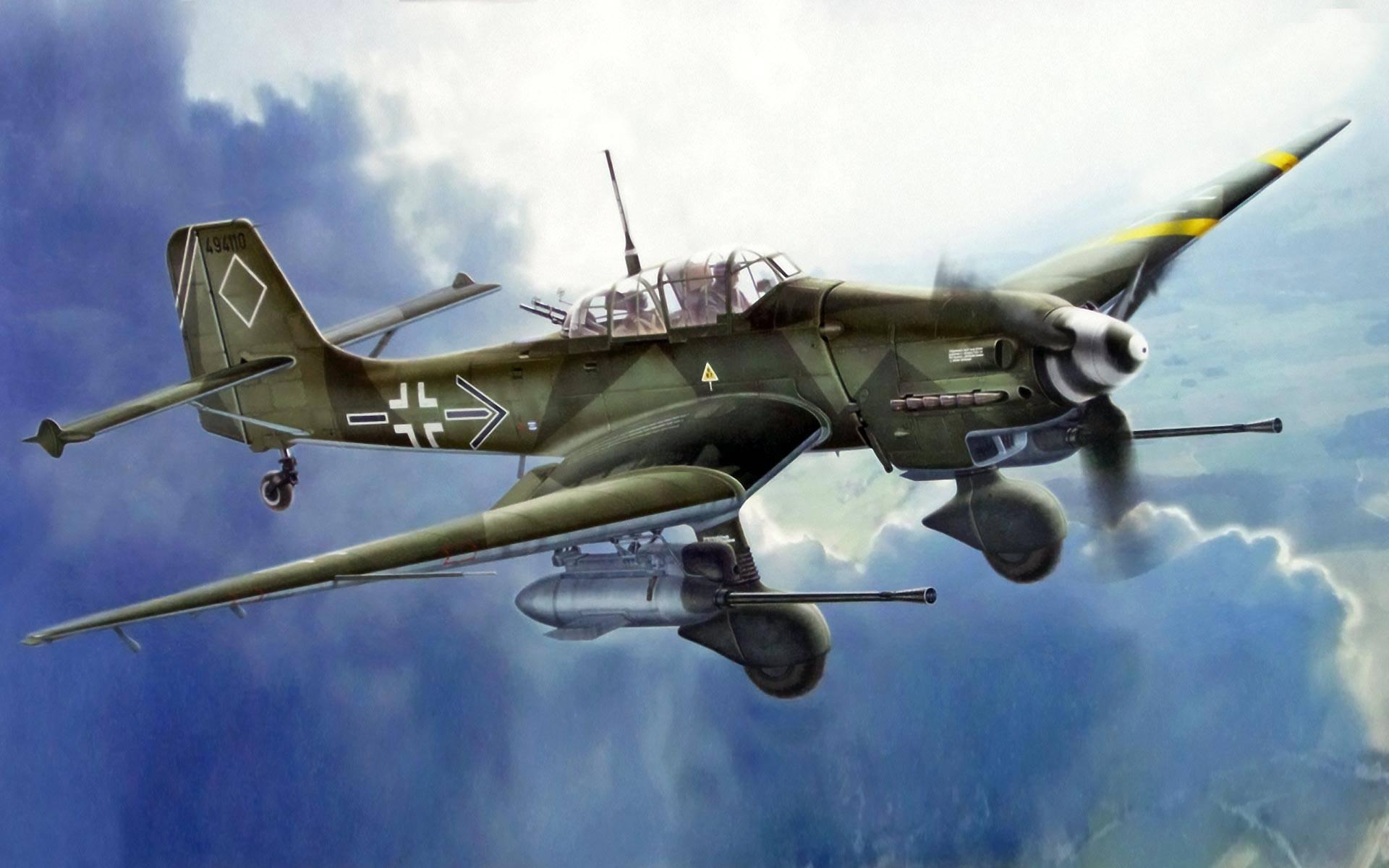 Проект пикирующего бомбардировщика junkers ju-187 (германия. 1940 -1943 год)