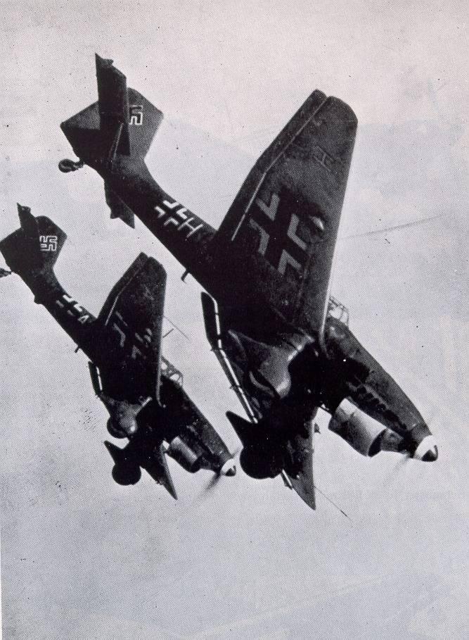 Пикирующий бомбардировщик юнкерс ju-87 штука | красные соколы нашей родины