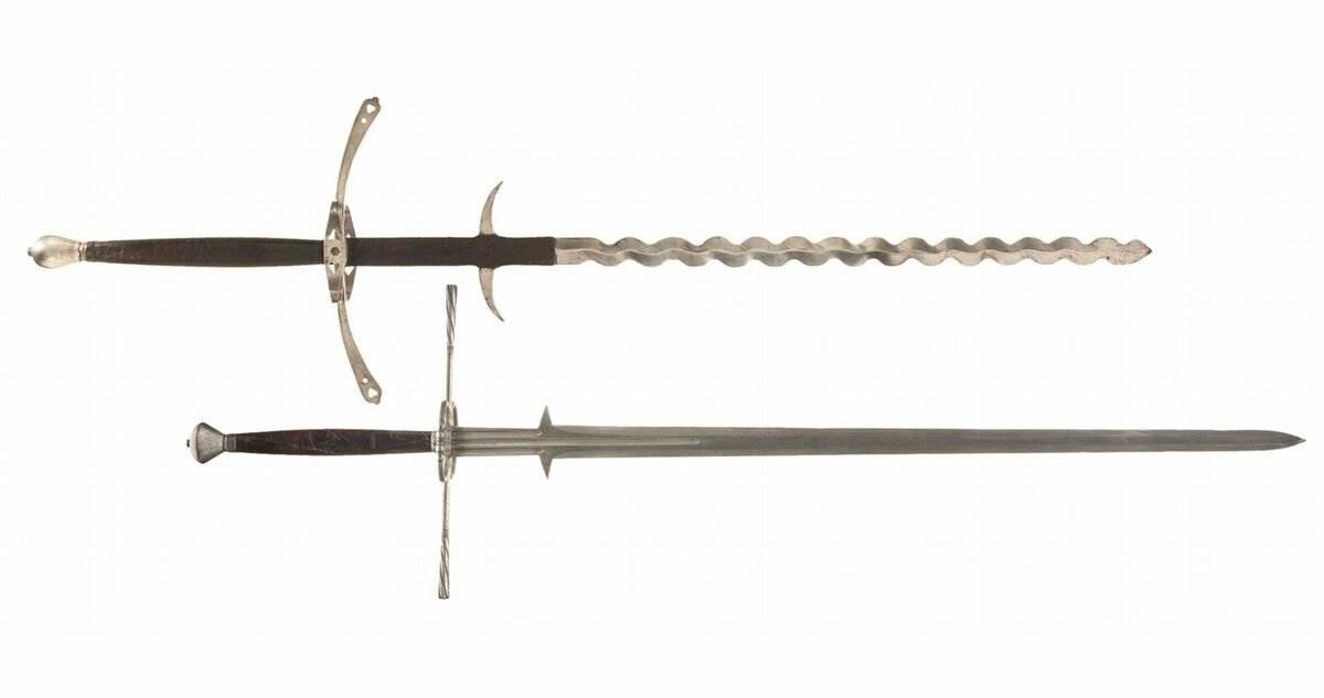 Рыцарский длинный меч