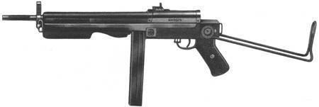 Пистолет-пулемет. история