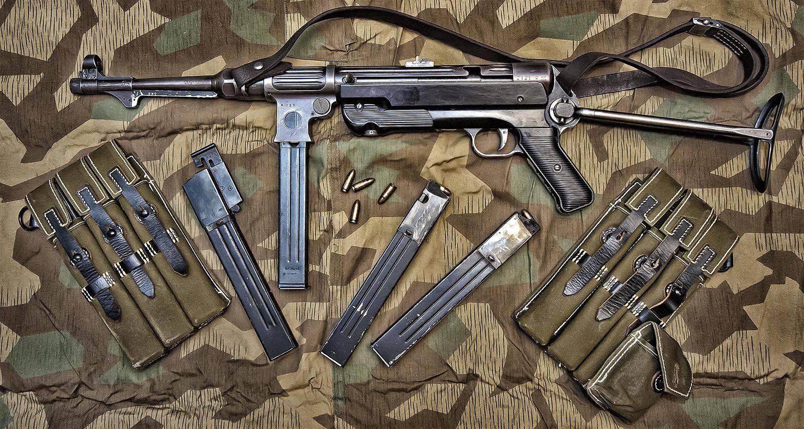 Пистолет-пулемет MP.40