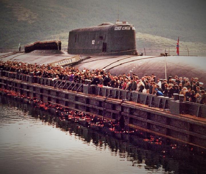Комсомолец - подводная лодка из титана