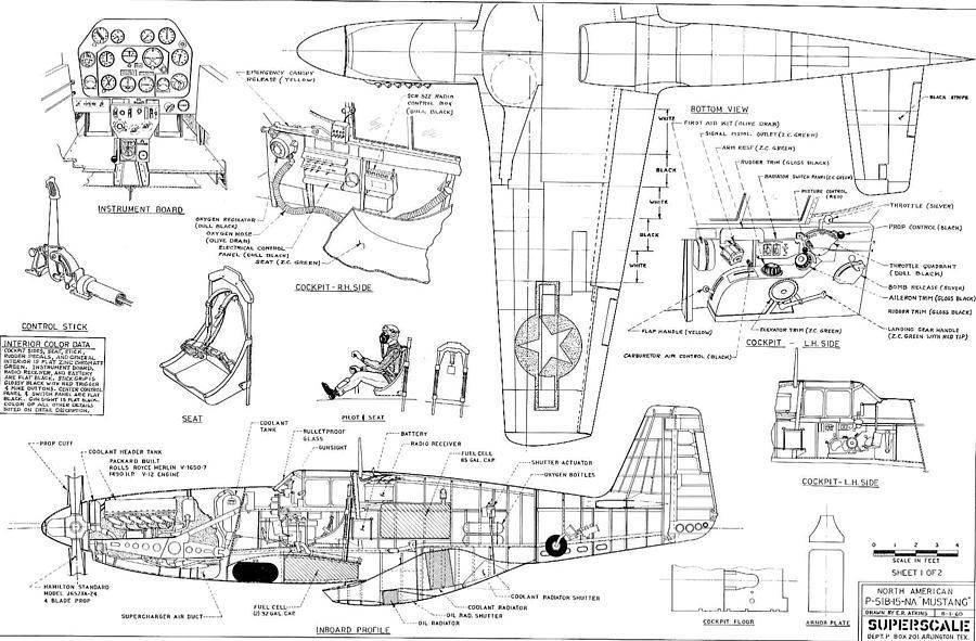 P-51 «мустанг» 2 | военный альбом