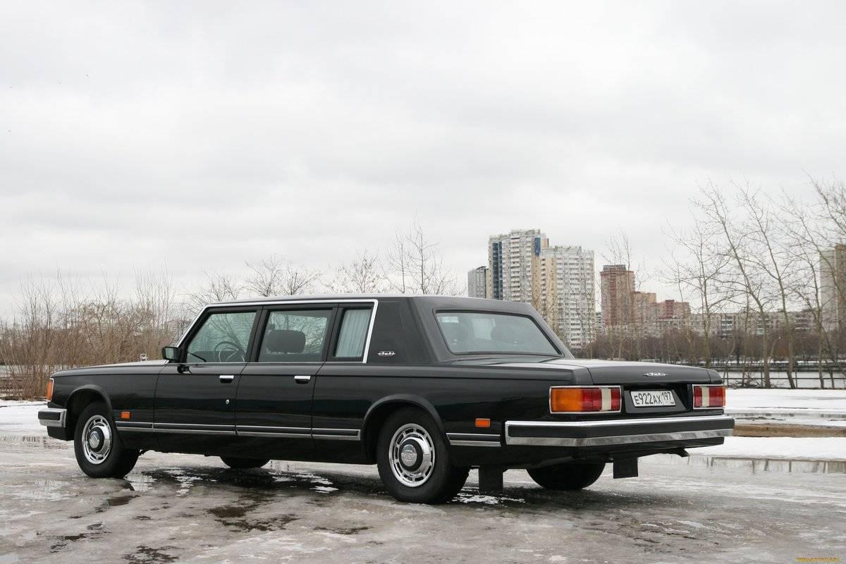 ЗиЛ 4104 – последний лимузин Советского Союза
