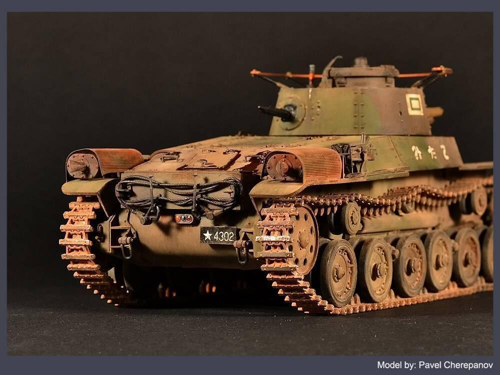 "Японская команда чи ха танк. японский ""чи-ха"" – защитник суши"