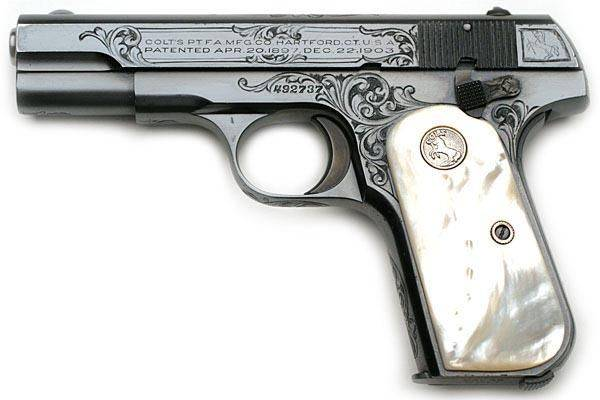 Colt 1903 pocket hammerless и 1908 пистолет — характеристики, фото, ттх