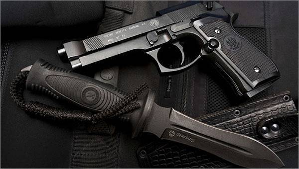 Самозарядный пистолет «беретта» м-92