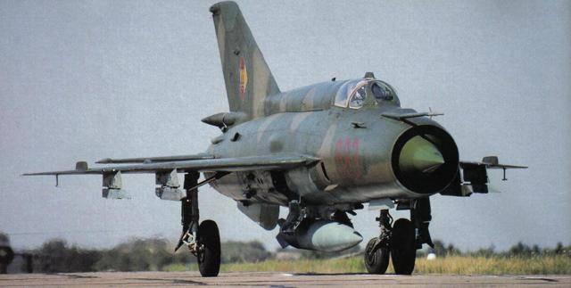 Миг-21 -многоцелевой истребитель
