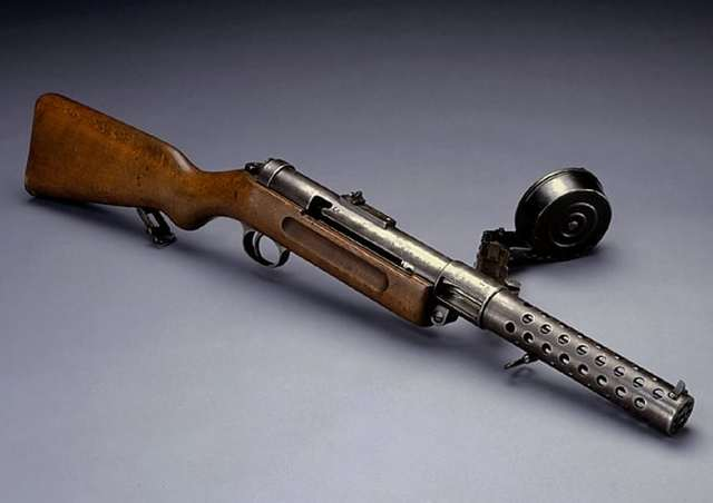 Пистолет-пулемет Bergmann-Schmeisser MP.18