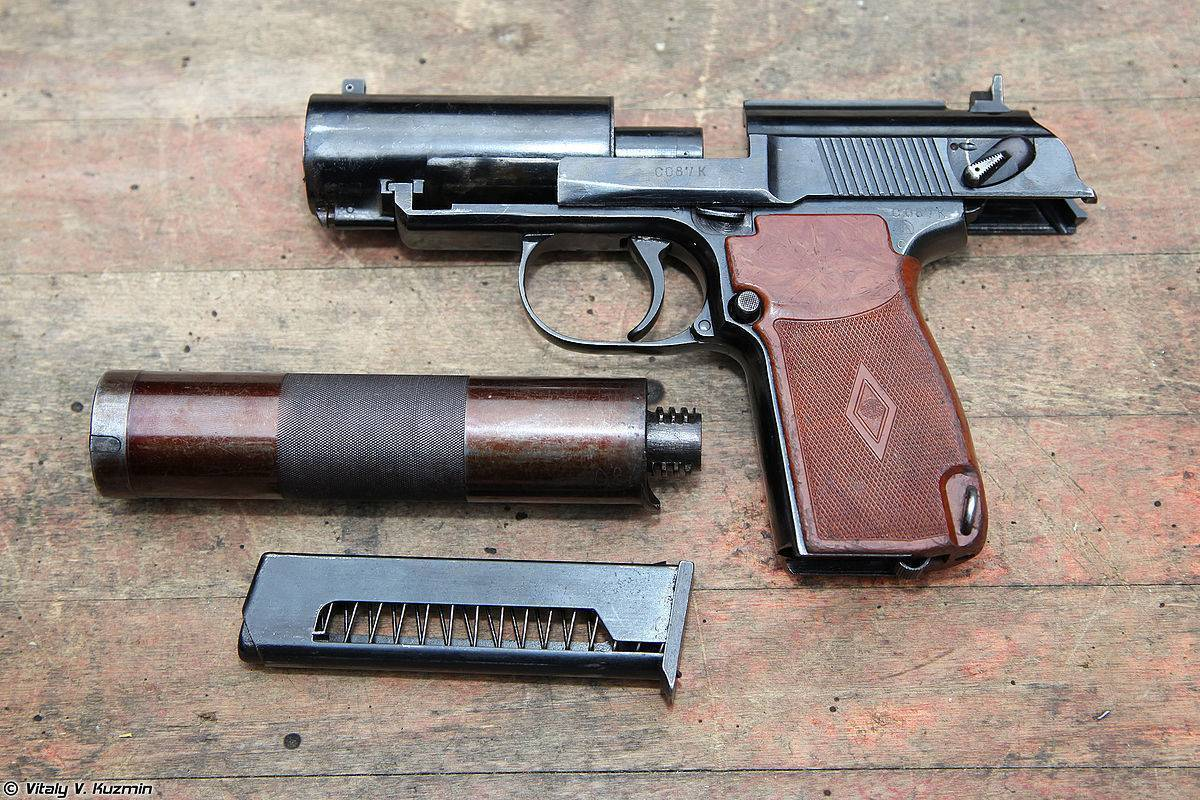 Армейские пистолеты россии