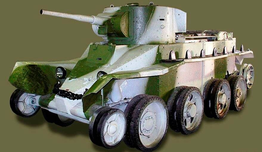 Бт-5 - танки времен великой отечественной войны