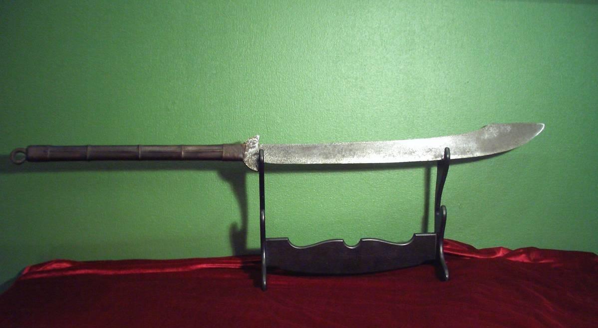 Фальшион – оружие средневековья