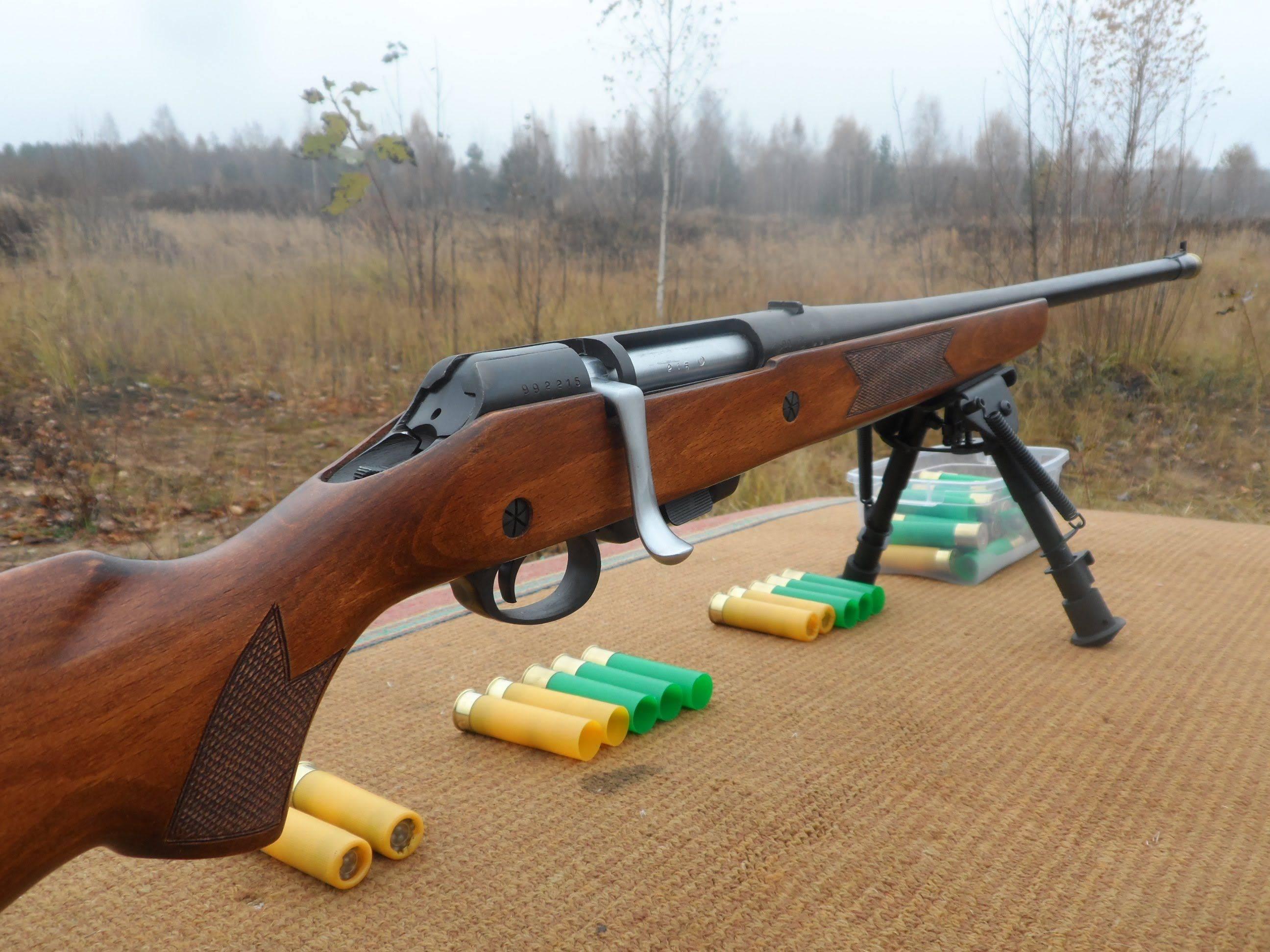 Самозарядное охотничье ружье мц - 21-12