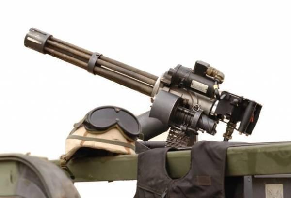 Пулемет «вулкан» и его младший брат «миниган»