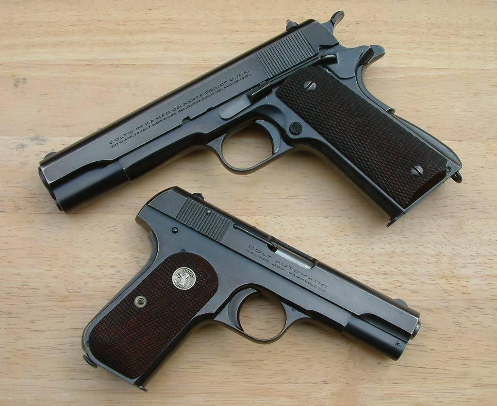 Кольт (пистолет) википедия