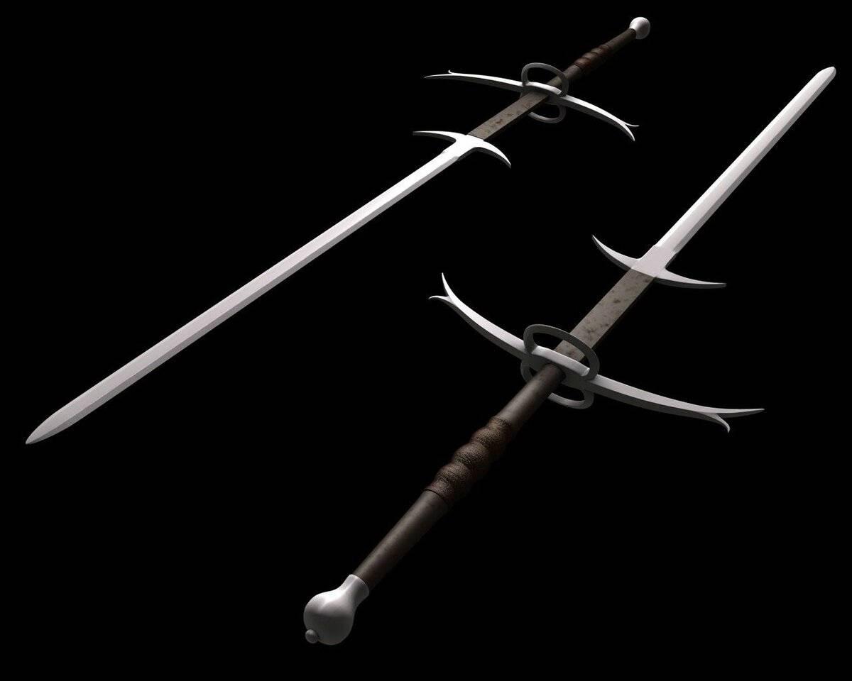 Устройство европейского меча