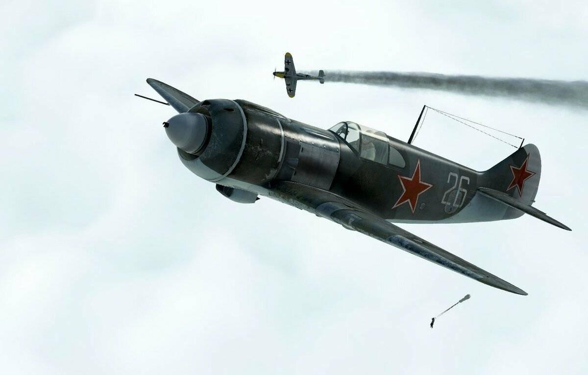 Ла-7. боевое применение.