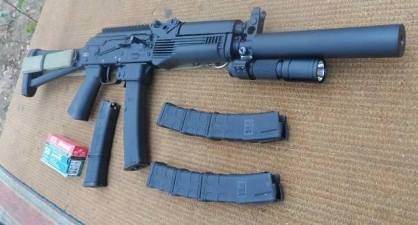 Оригинальный формат. пистолет-карабин аск 17-9/345 sputnik