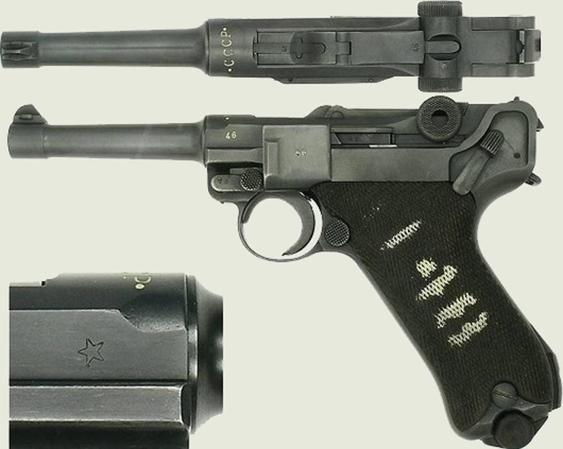 «парабеллум» – пистолет, который за 100 лет использования практически ни разу не дорабатывался