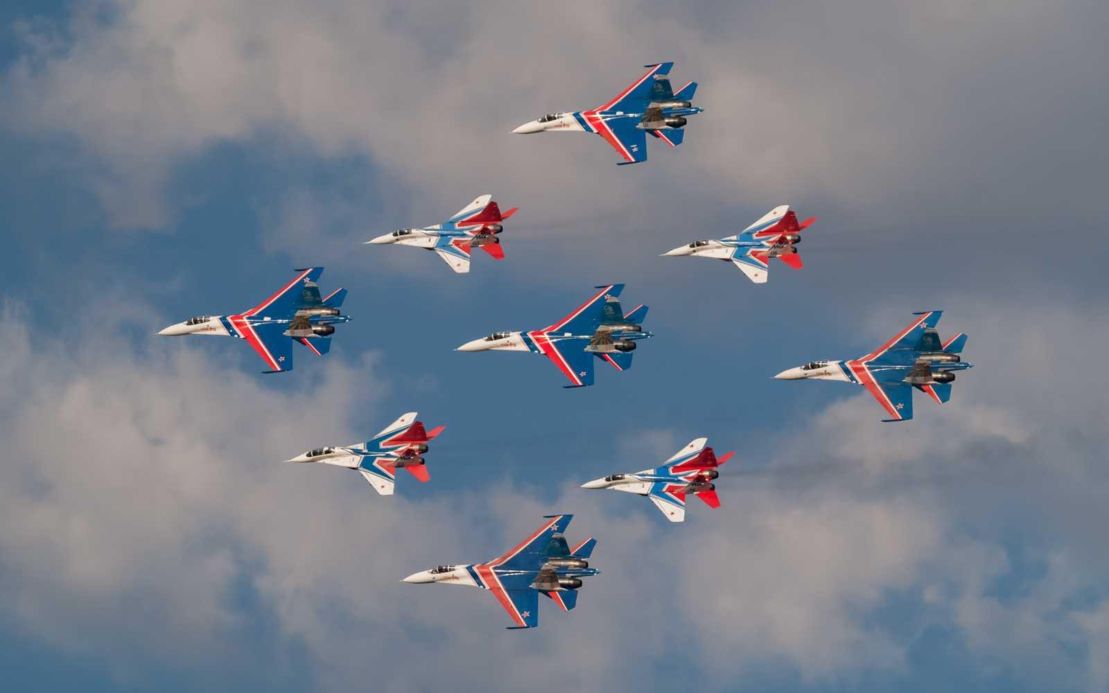 пилотажные группы россии фото это