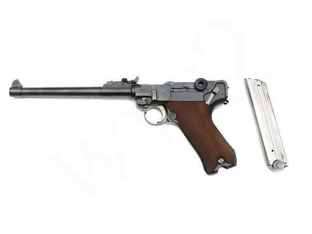 К-93 7,63-мм пистолет борхардта 1893 г (германия).