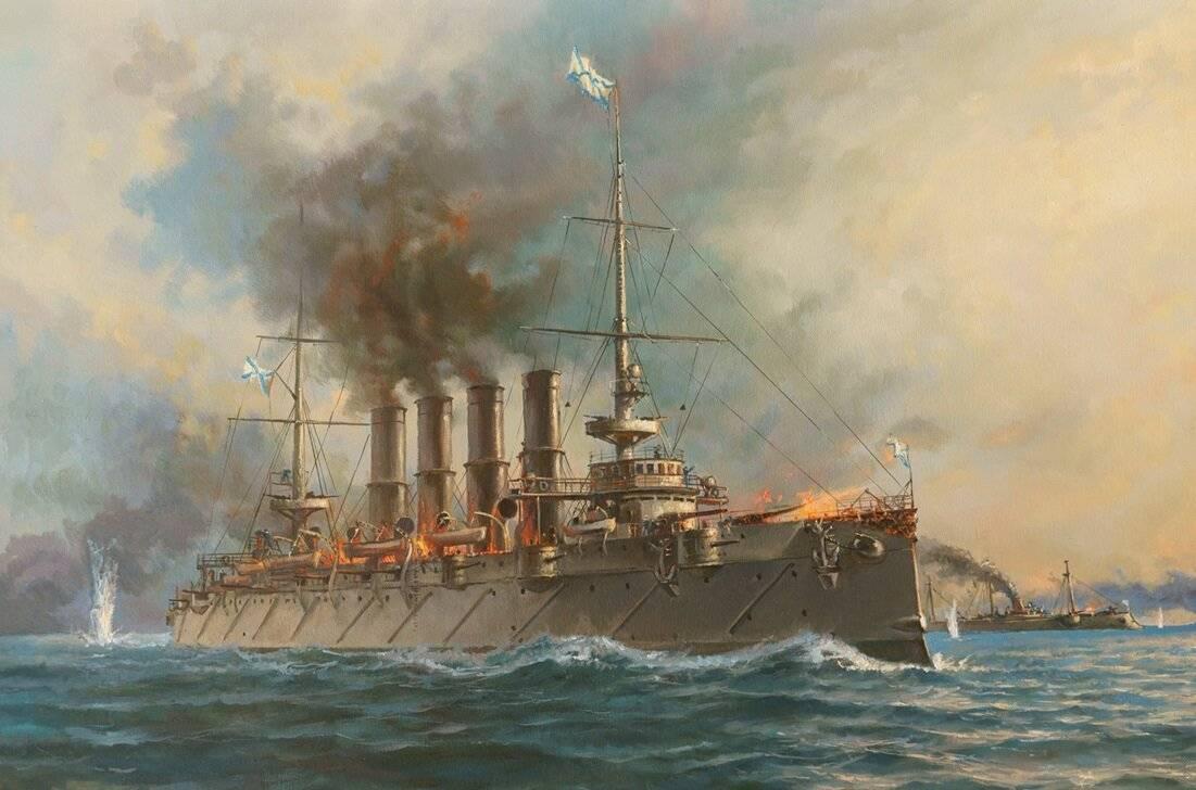 Крейсер варяг (1899)- история создания и службы российского бронепалубного крейсера