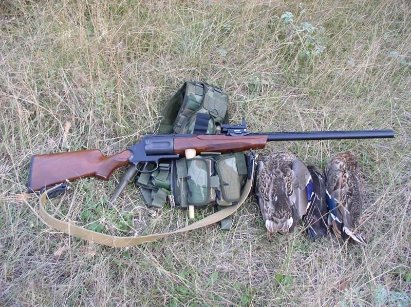 МЦ — 255 револьверное охотничье ружье