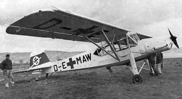 Физелер fi-156 «шторх» - самый удачный самолет люфтваффе второй мировой войны   красные соколы нашей родины
