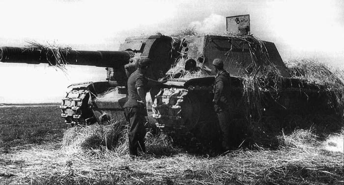 История создания и боевого применения самоходных артиллерийских устройств (50 фото)