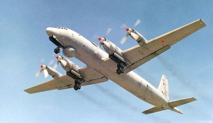 Самолет ил 38