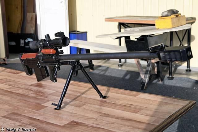 Снайперская винтовка лобаева - википедия