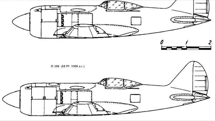 И-185 на фронтовых испытаниях