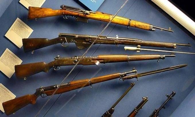 Мондрагон винтовка - mondragón rifle