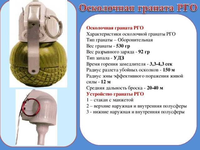 Ручные осколочные гранаты. .назначение, боевые свойства, общее устройство и принцип работы.