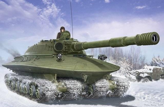 Танк «Объект 279» – советский бронированный «луноход»