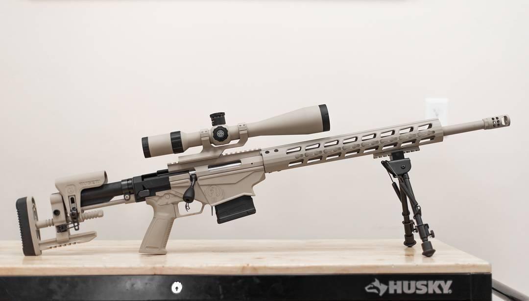 Видео: cамозарядная винтовка mini-14