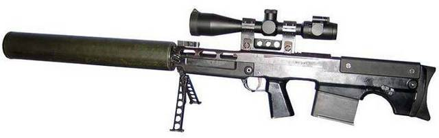 Снайперская винтовка McMillan Tac-50
