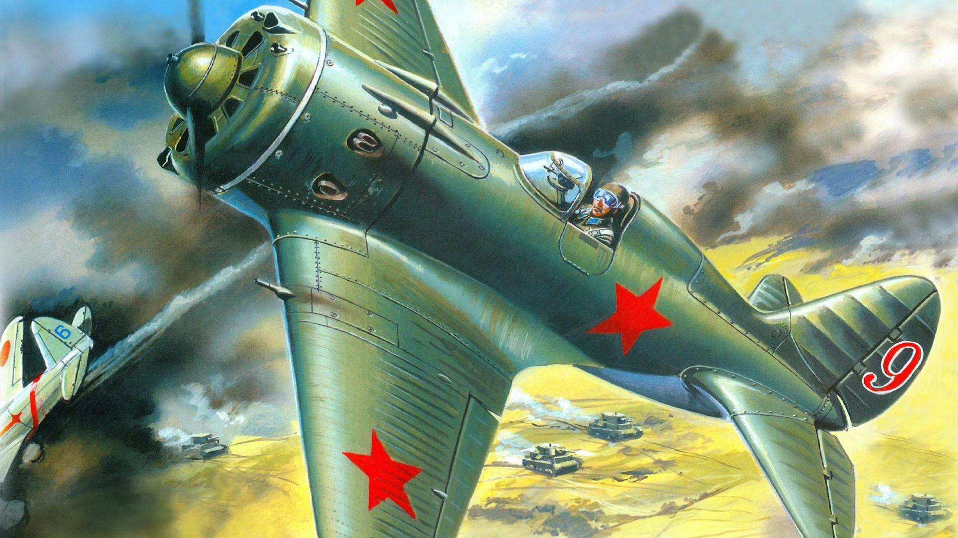 Истребители и-16. злые советские мухи