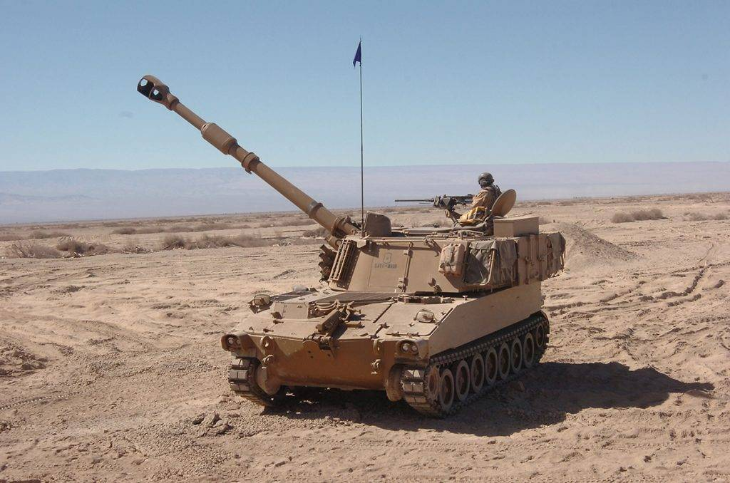 САУ М109 – паладин-артиллерист