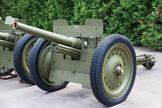 Переходной тип в советской артиллерии – 76-мм полковая пушка 1927 года