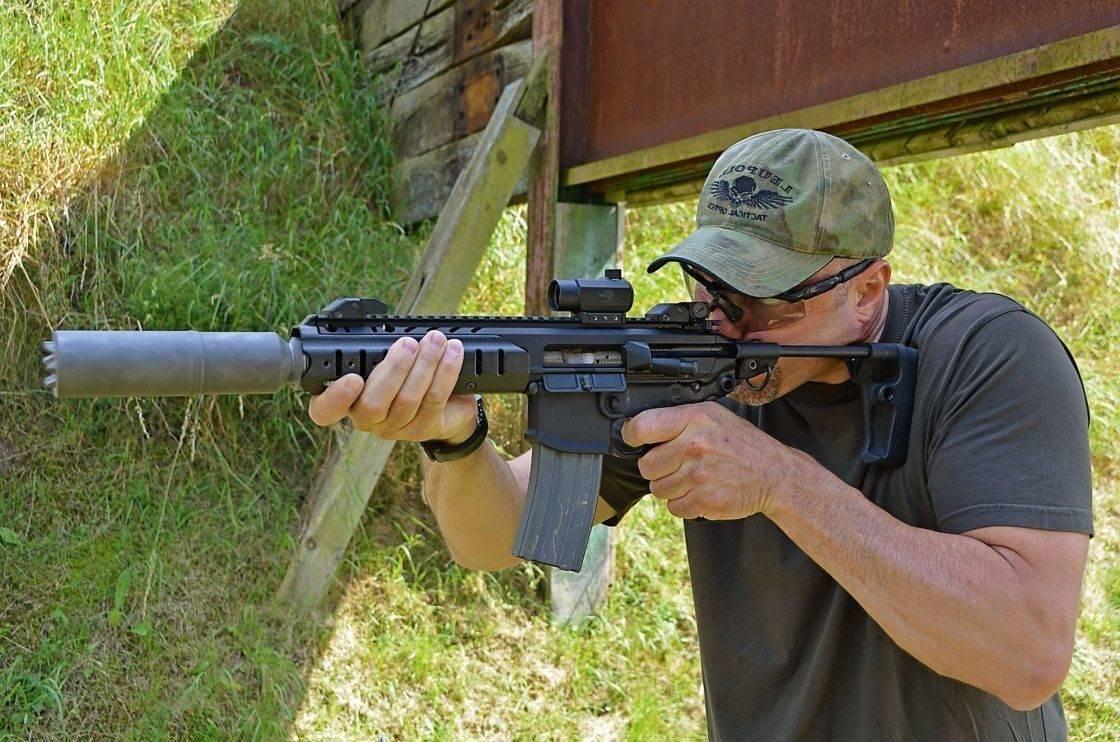 Видео: штурмовая винтовка sig 716 patrol